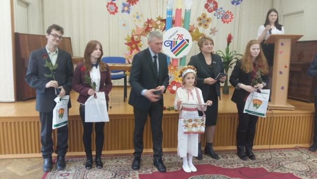 Вручение паспортов в День Конституции Республики Беларусь